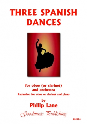 3 Spanish Dances: Clarinet Or Oboe & Piano