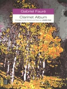 Clarinet Album: Clarinet & Piano (ed James Rae)  (Universal)