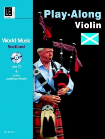 World Music Scotland Play Along: Violin: Book & CD