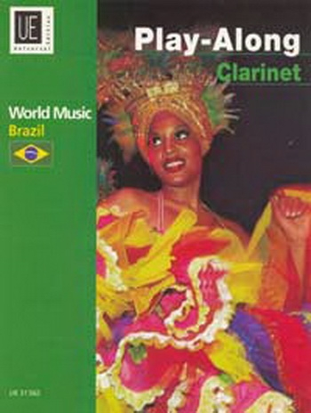 World Music Brazil Play Along: Clarinet: Book & CD