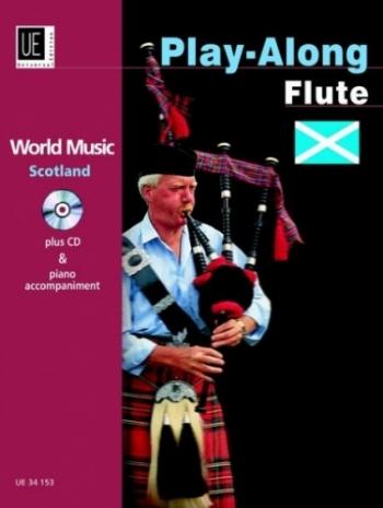 World Music Scotland: Playalong: Flute: Book & CD