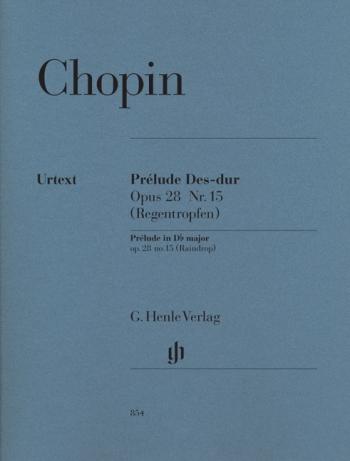 Prelude Op.28/15: Db Major: Raindrop: Piano (Henle)