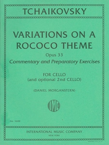 Variations On A Rococo Theme: Op33: Cello