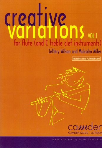Creative Variations Vol.1 Flute Book & CD (wilson)