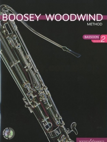 Boosey Woodwind Method: Bassoon: Book 2: Book & CD (B&H)