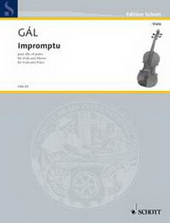 Impromptu: Viola and Piano