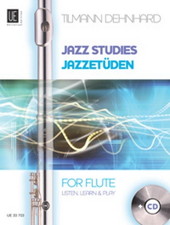 Jazz Studies For Flute: Listen Learn And Play Book & CD (Denhard)