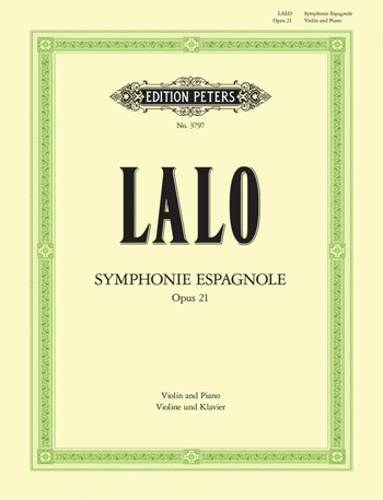 Symphonie Espagnole: Op21: Violin and Piano (Peters)