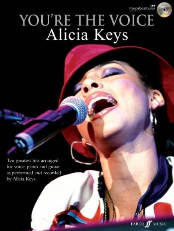 Youre The Voice: Alicia Keys: Piano Vocal Guitar: Bk&cd