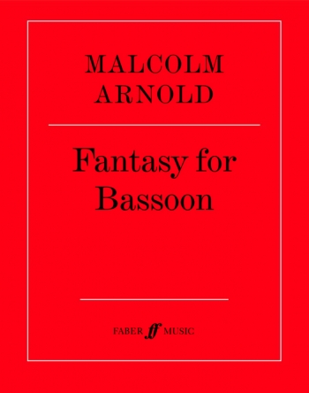 Fantasy For Bassoon Solo (Faber)