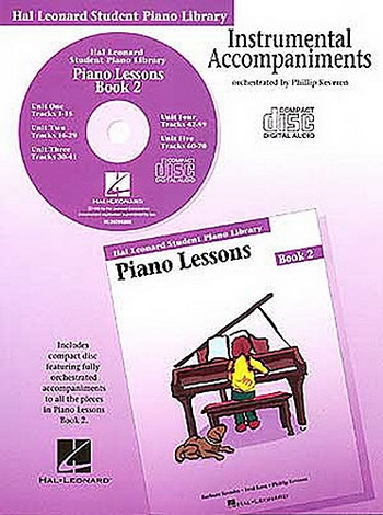 SALE; Hal Leonard: 2: Cd: Piano Lessons : Hal Leonard Student Piano Library