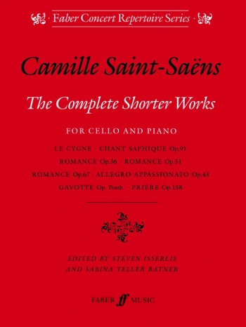 Complete Shorter Works: Cello (Faber)