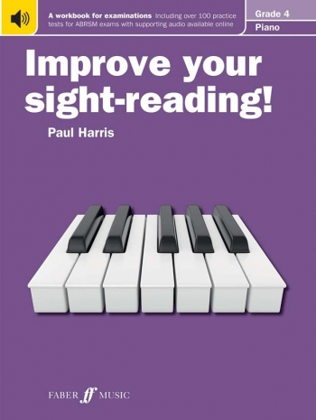Improve Your Sight-Reading For Piano ABRSM Edition Grade 4 (Paul Harris)