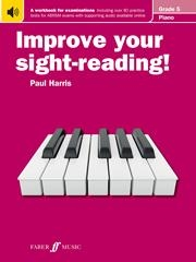 Improve Your Sight-Reading For Piano ABRSM Edition Grade 5 (Paul Harris)
