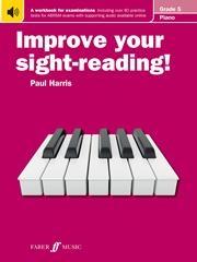 Improve Your Sight-Reading Piano ABRSM Edition Grade 5 (Harris)