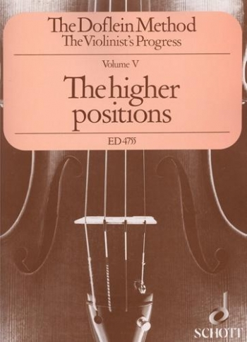Doflein Violin Method: Vol 5:  Violin