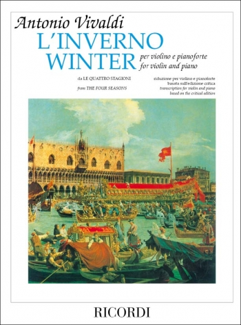 Winter: From Four Seasons: Violin and Piano