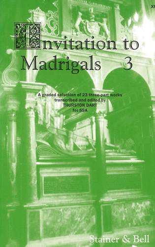 Invitation To Madrigals Book 3 Vocal: Ssa