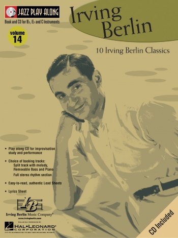 Jazz Play Along Vol.14: Irving Berlin: Bb or Eb or C Instruments: Book & CD