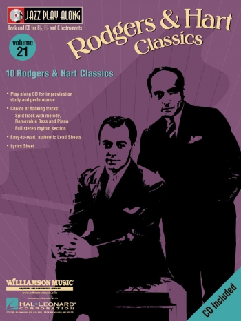 Jazz Play Along Vol.21: Rogers and Hammerstein: Bb or Eb or C Instruments: Book & CD