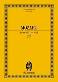 Don Giovanni: Opera K527: Miniature Score