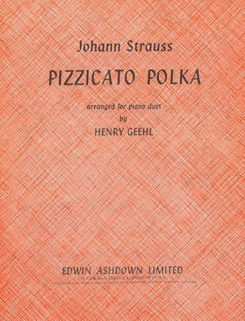 Pizzicato Polka: Piano Duet