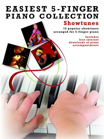 Easiest 5 Finger Piano Collection: Showtunes: 15 Popular
