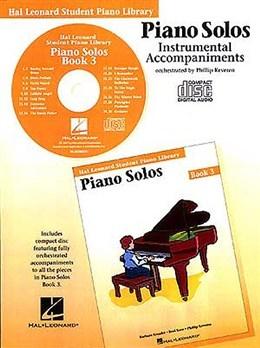 Hal Leonard Student Piano Library: Book 3: Cd: Piano Solos
