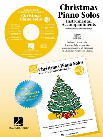 Hal Leonard Student Piano Library: Christmas Piano Solos: Level 3 CD