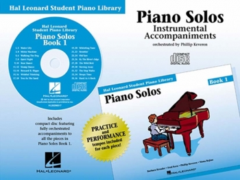 Hal Leonard Student Piano Library: Book 1: Cd: Piano Solos