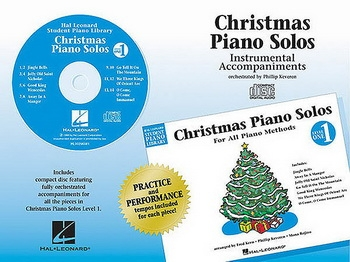 Hal Leonard Student Piano Library: Christmas Piano Solos: Level 1 CD