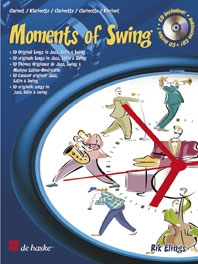 Moments Of Swing: Clarinet: Book & CD