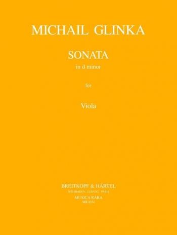 Sonata In D Minor: Viola (Breitkopf)