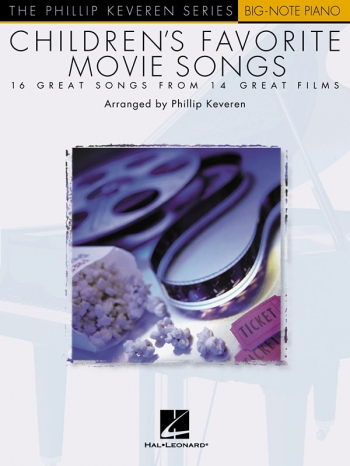 Childrens Favourite Movie Songs: Big Note Piano