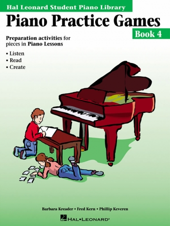 Hal Leonard Student Piano Library: Book 4: Piano Practice Games