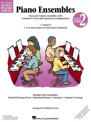 Hal Leonard Student Piano Library: Book 2: Piano Ensembles