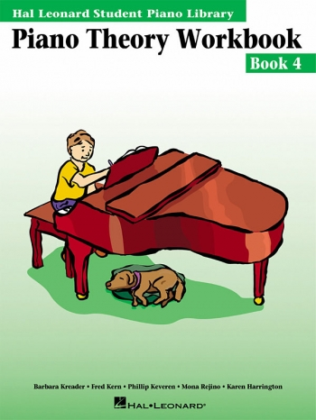 Hal Leonard Student Piano Library: Book 4: Piano Theory Workbook