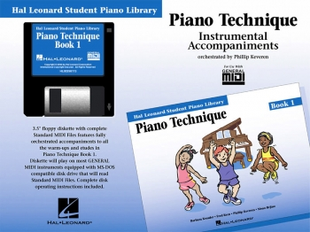 Hal Leonard Student Piano Library: Book 1: Gm Disk: Piano Technique