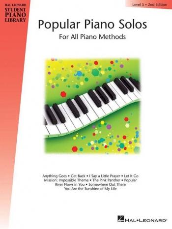 Hal Leonard Student Piano Library: Book 5: Popular Piano Solo