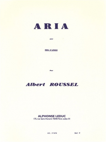 Ariano: Flute & Piano: Flute & Piano (Leduc)