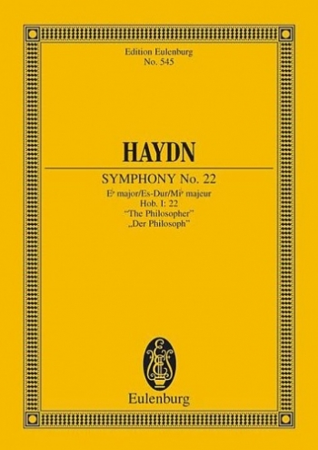 Symphony No.22: Eb Major: Miniature Score