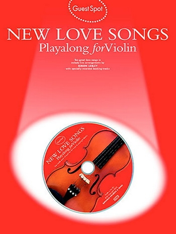 Guest Spot: New Love Songs: Violin: Book & CD