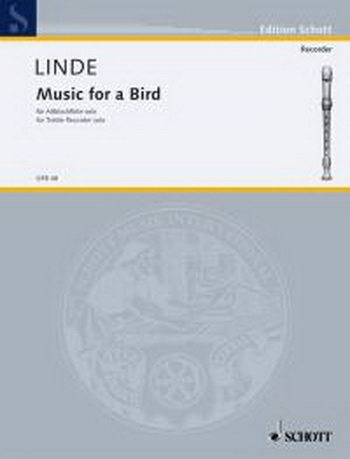 Music For A Bird: Treble Recorder Solo