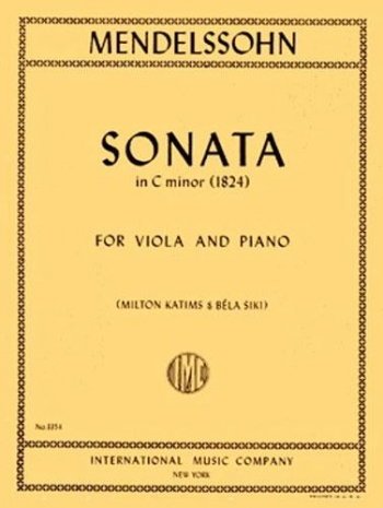 Sonata C Minor: Viola