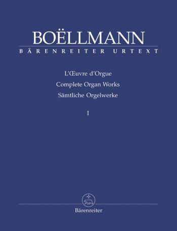 Complete Organ Works Vol.1  (Barenreiter)