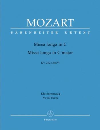 Mass In C Major: K262: Vocal Score (Barenreiter)