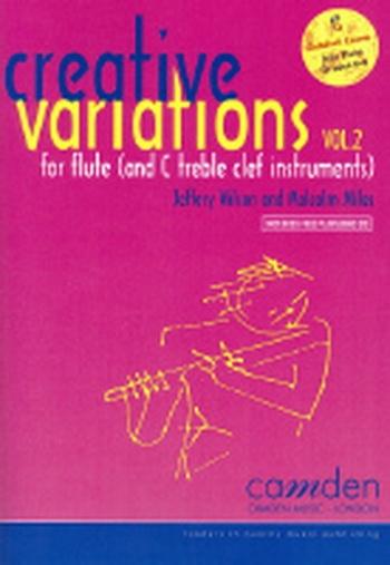 Creative Variations Vol.2 Flute Book & CD (wilson)