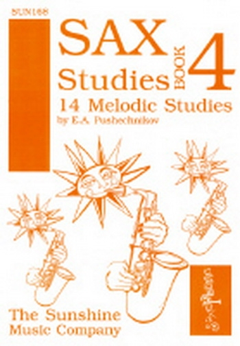 Sax Studies: 4: 14 Melodic Studies: Alto Saxophone