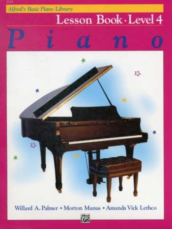 Alfred Basic Piano Lesson Book: Level 4