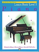Alfred Basic Piano Lesson Book: Level 5